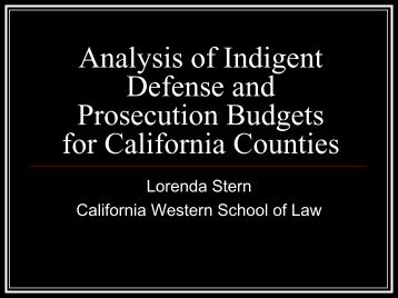 Download Lorenda Stern PowerPoint Presentation at Public Hearing