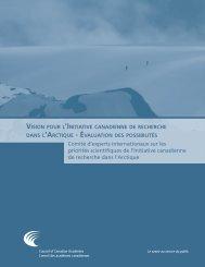 Rapport complet - Conseil des académies canadiennes