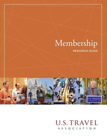 Membership — Resource Guide - US Travel Association