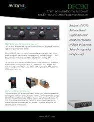 Brochure Download (PDF) - Avidyne