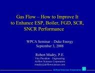 Gas Flow – How to Improve It to Enhance ESP, Boiler ... - Wpca.info
