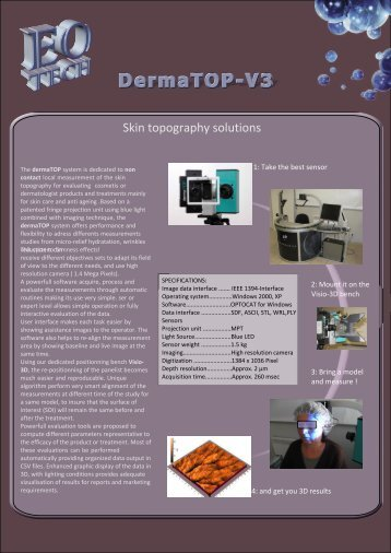 Skin topography solutions