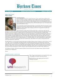 Bjerknes Times 11/2009 (pdf) - Bjerknessenteret for klimaforskning