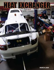 MARCH 2009 - Shenandoah Region Porsche Club of America