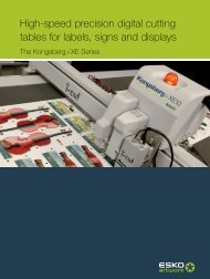 High-speed precision digital cutting tables for labels, signs and ...