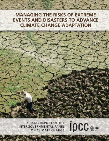IPCC_Managing Risks of Extreme Events.pdf - Climate Access