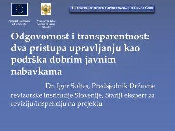 Transparency International - Javne nabavke