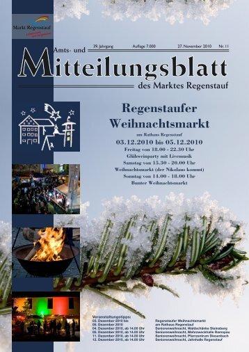 Regenstaufer Weihnachtsmarkt - Landkreis Regensburg