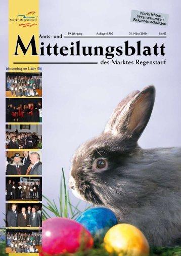 Jahresempfang vom 5. März 2010 - Landkreis Regensburg