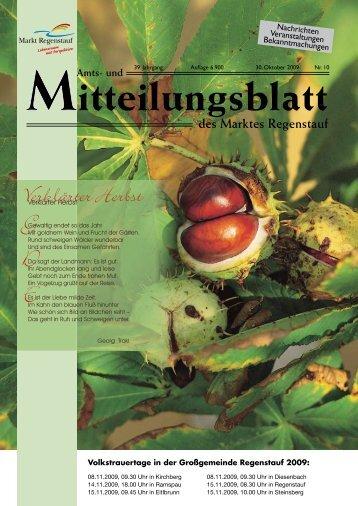 Verklärter Herbst G D E - Landkreis Regensburg