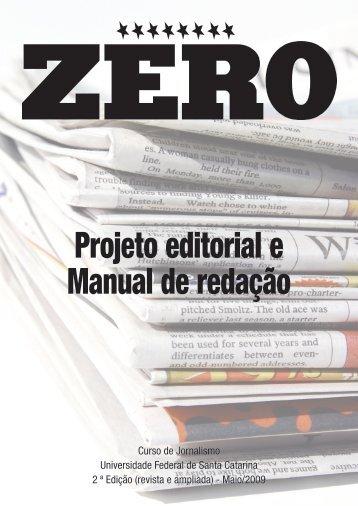 Projeto editorial e Manual de redação - Monitorando