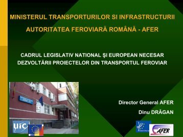 Dinu Dragan - Club Feroviar Conferences