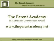 Helping Parents Help Their Children Succeed In School