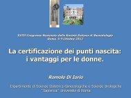 Roma - Informazione - Società Italiana di Neonatologia