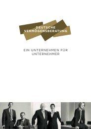 Titelseiten hauptheft a4 layout 1 - DVAG Deutsche ...