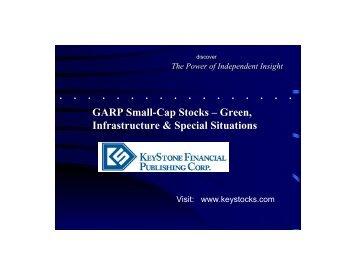 GARP Small-Cap Stocks - Small-Cap Conference Series