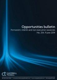 CT Opportunities Bulletin 254 090614
