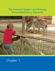 The Immune System and Primary Immunodeficiency Diseases