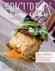 lava bistro - Epicurean Charlotte Food & Wine Magazine