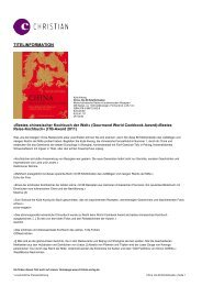 Druckansicht ( PDF) - Christian Verlag