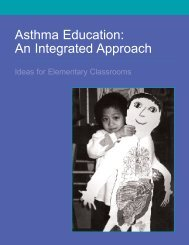 Asthma Education: An Integrated Approach - Minnesota Department ...