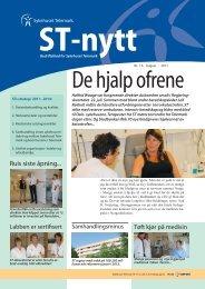 ST-nytt nr. 13, 2011 - Sykehuset Telemark