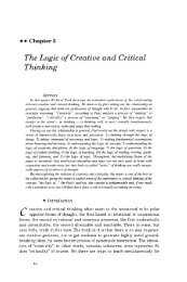 Chapter 3 - The Logic of Creative and Critical Thinking - The Critical ...