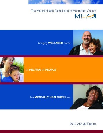 2010 Annual Report - Mental Health Association of Monmouth ...