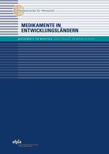 medikamente in entwicklungsländern - Medicines for Mankind