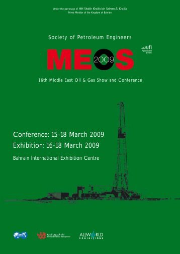 Conference: 15-18 March 2009 Exhibition: 16-18 March 2009