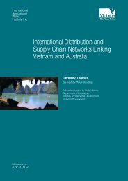 International Distribution and Supply Chain Networks Linking ...