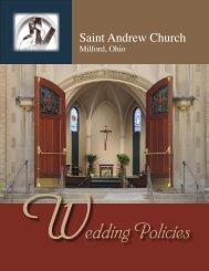 St. Andrew Wedding Policies - Saint Andrew Parish