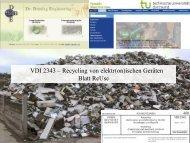 Ziele der Richtlinienarbeit VDI-Richtlinien fördernden ...