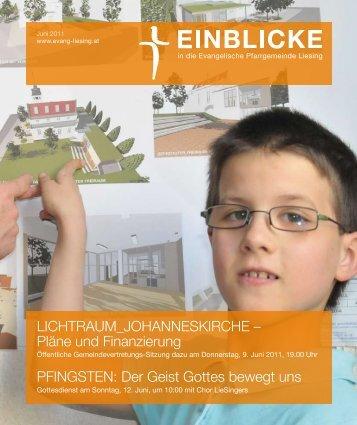 LICHTRAUM_JOHANNESKIRCHE - Evangelische Pfarrgemeinde ...