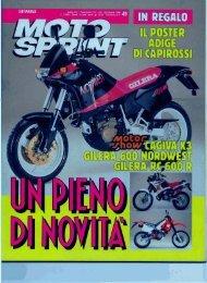Dicembre 1990 - Gilera Bi4