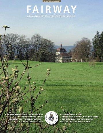 Ausgabe Nr.9 2006 - Golfclub Schloss Goldenberg