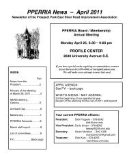 PPERRIA News – April 2011 - Prospect Park East River Road ...