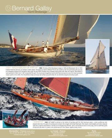 Bernard Gallay Yacht Brokerage