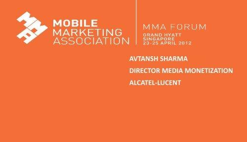 alcatel-lucent's transformation framework - Mobile Marketing ...
