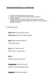 10-Voleybolda Yetenek Seçimi ve Yönlendirmesi - Spor Bilim
