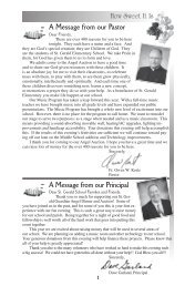 A Message from our Pastor - Saint Gerald Catholic Church