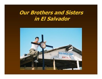 Overview of El Salvador Power Point Presentation - Partners with El ...