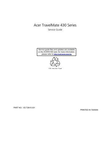 acer travelmate 42 0 rh yumpu com Acer TravelMate 4060 Drivers Driver for Acer TravelMate 4000