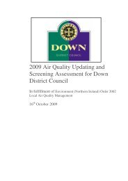 Updating and Screening Assessment - 2009 - Northern Ireland Air