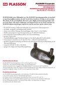 PLASSON Fusamatic® Elektroschweißmuffen mit integriertem ... - Seite 2