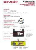 PLASSON Fusamatic® Elektroschweißmuffen mit integriertem ... - Seite 3