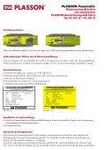 PLASSON Fusamatic® Elektroschweißmuffen mit integriertem ... - Seite 4