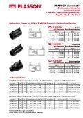 PLASSON Fusamatic® Elektroschweißmuffen mit integriertem ... - Seite 5