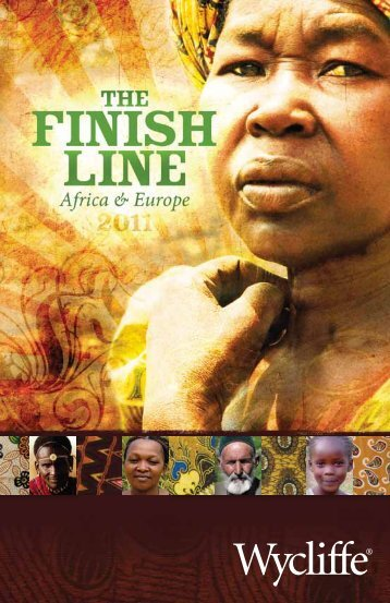 The Finish Line - Wycliffe Bible Translators