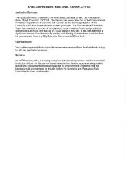 Application to Review a Premises Licence PDF 13 MB